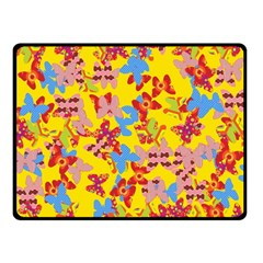 Butterflies  Double Sided Fleece Blanket (Small)