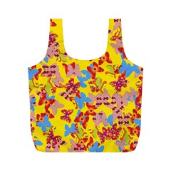 Butterflies  Full Print Recycle Bags (M)