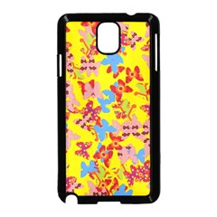 Butterflies  Samsung Galaxy Note 3 Neo Hardshell Case (Black)