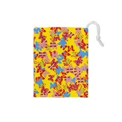 Butterflies  Drawstring Pouches (Small)