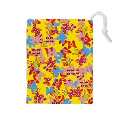 Butterflies  Drawstring Pouches (Large)