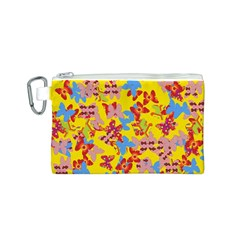 Butterflies  Canvas Cosmetic Bag (S)
