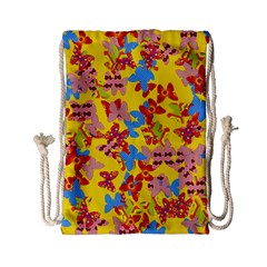 Butterflies  Drawstring Bag (Small)