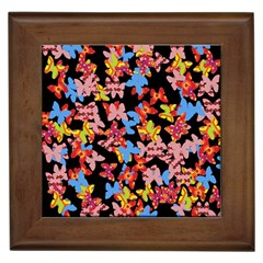 Butterflies Framed Tiles