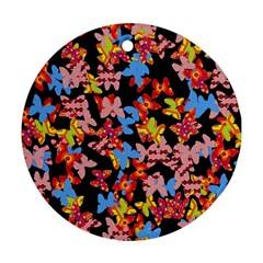 Butterflies Ornament (Round)