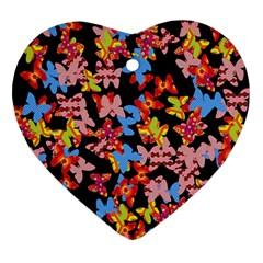 Butterflies Ornament (Heart)