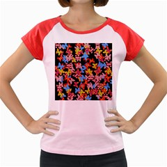 Butterflies Women s Cap Sleeve T-Shirt