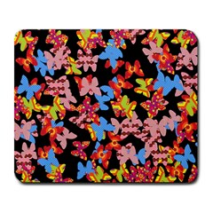 Butterflies Large Mousepads