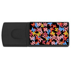 Butterflies USB Flash Drive Rectangular (2 GB)