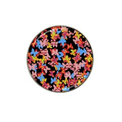 Butterflies Hat Clip Ball Marker (4 pack)