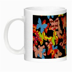 Butterflies Night Luminous Mugs