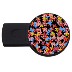 Butterflies USB Flash Drive Round (4 GB)