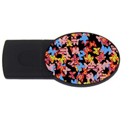 Butterflies USB Flash Drive Oval (4 GB)