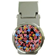 Butterflies Money Clip Watches