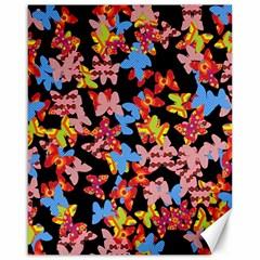 Butterflies Canvas 16  x 20
