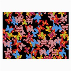 Butterflies Large Glasses Cloth (2-Side)