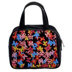 Butterflies Classic Handbags (2 Sides)