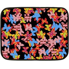 Butterflies Double Sided Fleece Blanket (Mini)