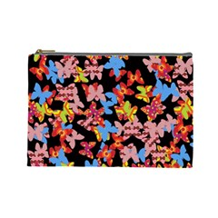 Butterflies Cosmetic Bag (Large)