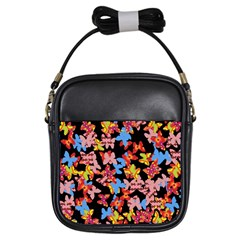 Butterflies Girls Sling Bags