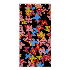 Butterflies Shower Curtain 36  x 72  (Stall)