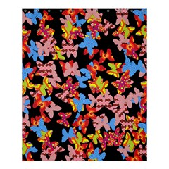 Butterflies Shower Curtain 60  x 72  (Medium)