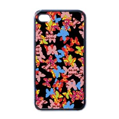 Butterflies Apple iPhone 4 Case (Black)