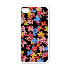 Butterflies Apple iPhone 4 Case (White)