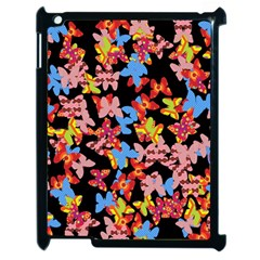 Butterflies Apple iPad 2 Case (Black)