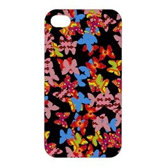 Butterflies Apple iPhone 4/4S Premium Hardshell Case