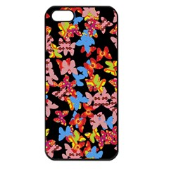 Butterflies Apple iPhone 5 Seamless Case (Black)