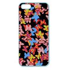 Butterflies Apple Seamless iPhone 5 Case (Color)