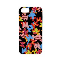Butterflies Apple iPhone 5 Classic Hardshell Case (PC+Silicone)