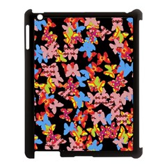Butterflies Apple iPad 3/4 Case (Black)