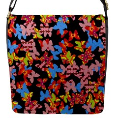Butterflies Flap Messenger Bag (S)