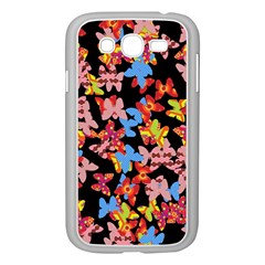 Butterflies Samsung Galaxy Grand DUOS I9082 Case (White)