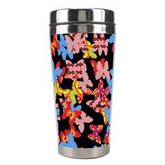 Butterflies Stainless Steel Travel Tumblers
