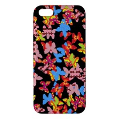 Butterflies iPhone 5S/ SE Premium Hardshell Case