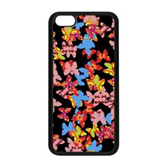 Butterflies Apple iPhone 5C Seamless Case (Black)