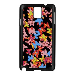Butterflies Samsung Galaxy Note 3 N9005 Case (Black)