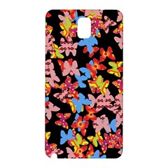 Butterflies Samsung Galaxy Note 3 N9005 Hardshell Back Case