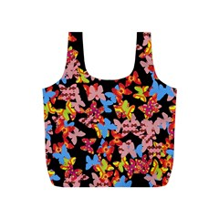 Butterflies Full Print Recycle Bags (S)