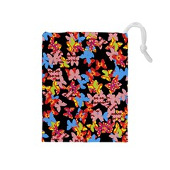 Butterflies Drawstring Pouches (Medium)