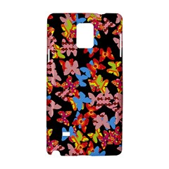 Butterflies Samsung Galaxy Note 4 Hardshell Case