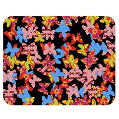 Butterflies Double Sided Flano Blanket (Medium)