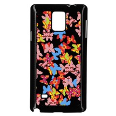 Butterflies Samsung Galaxy Note 4 Case (Black)