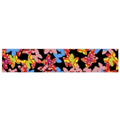 Butterflies Flano Scarf (Small)