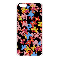 Butterflies Apple Seamless iPhone 6 Plus/6S Plus Case (Transparent)