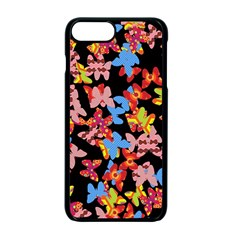 Butterflies Apple iPhone 7 Plus Seamless Case (Black)