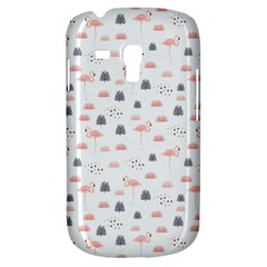 Cute Flamingos And  Leaves Pattern Galaxy S3 Mini